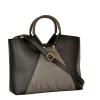 Женская сумка 35601 черная с серым 0