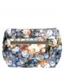 Женская сумка 35301 синяя с цветным принтом 2