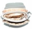 Женская сумка 35441 серебряная  4
