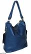 Женская кожаная сумка 2447 синяя 0