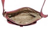 Женская сумка 35447 бордовая  6