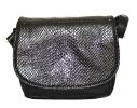 Женская сумка 35441 черная с тиснением 0