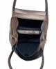 Женская сумка 35467 А металлик 3