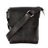 Мужская сумка из натуральной кожи Vesson 4532 черная 3
