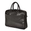 Мужской кожаный портфель 4503 черный 3