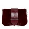 Женская замшевая сумка MIC 0708 марсала 0