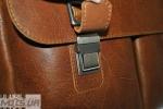 Мужской кожаный портфель 4227 рыжий 2