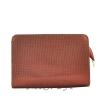 Женская кожаная сумочка МІС 2435 бордовый металик 0