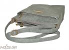 Женская сумка 35452 мьятно-серая 5