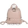 Городской кожаный рюкзак МIС 2636-1бежевый 0