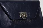 Женская сумка МІС 35826 синяя 2