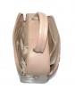 Женская сумка 35457 капучино с цветным принтом 3