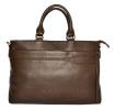 Мужской кожаный портфель 4507 коричневый 0
