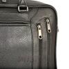 Мужской кожаный портфель 4503 черный 1