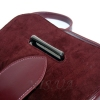 Женская замшевая сумка MIC 0708 марсала 5