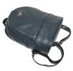 Кожаный рюкзак 4342 темно-синий 5
