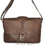 Мужской кожаный портфель 4381 коричневый 0