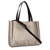 Женская сумка 35458 серебристая 0