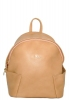 Leather backpack 2517 beige 7