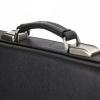 Мужской кожаный портфель 471 черный 2