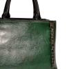 Женская сумка 35668 зеленая 2