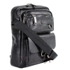 Мужская кожаная сумка Vesson  4553 черная 2