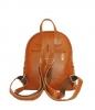 Кожаный рюкзак 2523 коричневый 2