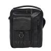 Мужская кожаная сумка Vesson 4584 черная 0