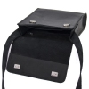 Мужская кожаная сумка 4248 черная 2