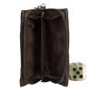 Мужская кожаная сумка 4203 коричневая  3