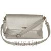 Женская сумка 35591 - 1 серебристая 2