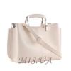 Женская сумка МІС 35744 бежевая 1