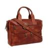 Мужской кожаный портфель Vesson 4631 рыжий 2