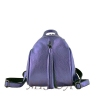 Female backpack 2533 purple metallic 0