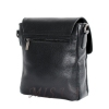 Мужская кожаная сумка Vesson  4564 черная 4