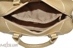 Женская сумка 35587 золотистая 5
