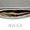 Женская сумка 35591 - 1 серебристая 4