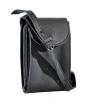 Мужская кожаная сумка Vesson 4555 черная 2
