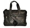 Мужской кожаный портфель 4369 черный 6