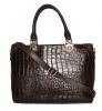 Женская сумка 2493 коричневая 4