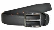 Мужской ремень 16670 темно-серый 0