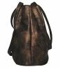 Женская сумка 35354 бронзовая 2