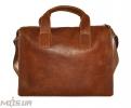 Мужской  портфель 4241 рыжий 0