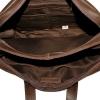 Мужской кожаный портфель 4393 коричневый 5