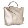Женская сумка 35533 серебряная 0