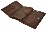 Мужской кошелек 4356 коричневый 4