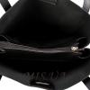 Женская сумка МІС 35694 черная-матовая 5