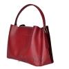 Женская замшевая сумка МIС 0703 бордовая 3