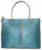 Женская сумка 2521 синяя металик 0