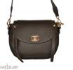Женская сумка 35569 темно-коричнева 0